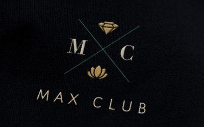 Max Club arculattervezés