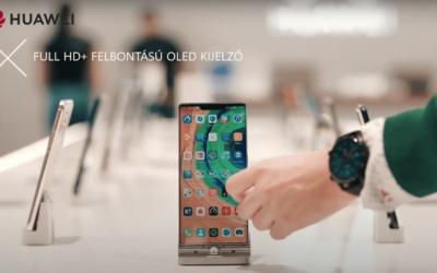 Huawei Mate 30 Pro: klasszikus mobil unboxing videó